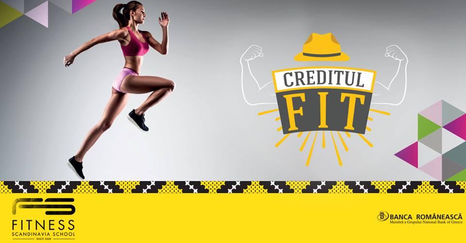 Creditul FIT si Fitness Scandinavia
