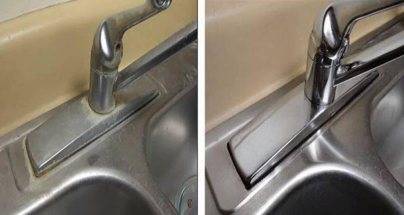 Καθαρίστε τα άλατα στο νεροχύτη με ένα μόνο υλικό [vid]