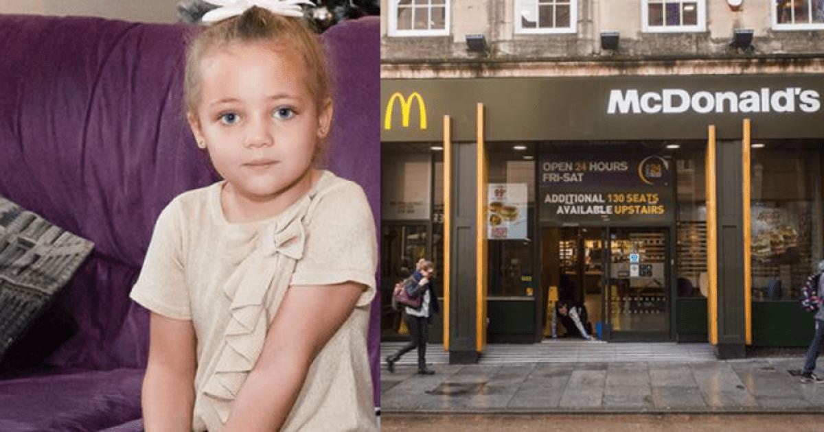 Το 4χρονο κοριτσάκι της άρχισε ξαφνικά να ουρλιάζει μέσα από την τουαλέτα των McDonald's. Μόλις πλησίασε αντίκρισε μια δυσάρεστη έκπληξη.