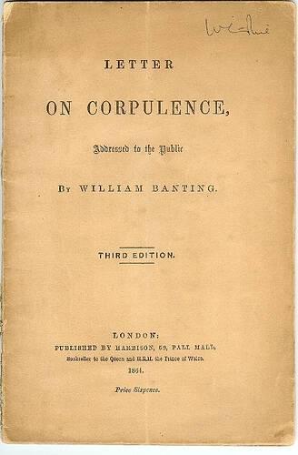 Η πρώτη δίαιτα στην ιστορία το 1863! – Τι περιείχε τότε η διατροφή του Γουίλιαμ Μπάντινγκ