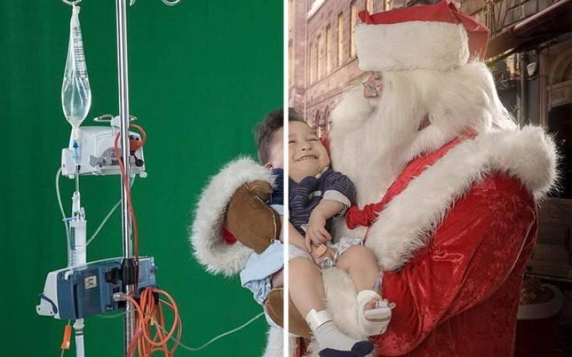 Το πιο συγκινητικό χριστουγεννιάτικο δώρο σε άρρωστα παιδιά