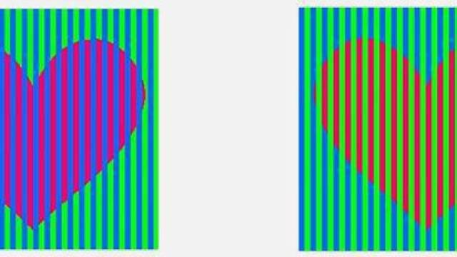 Οι καρδιές αυτές έχουν ΤΟ ΙΔΙΟ χρώμα! Η οφθαλμαπάτη που μπέρδεψε όλο το ίντερνετ