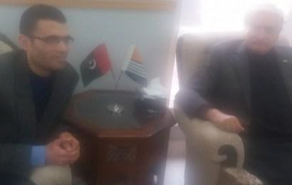 President Pakistan Administered Kashmir unplugged
