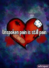 THE UNSPOKEN PAIN
