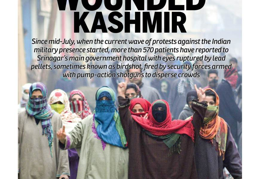 Wounded Kashmir