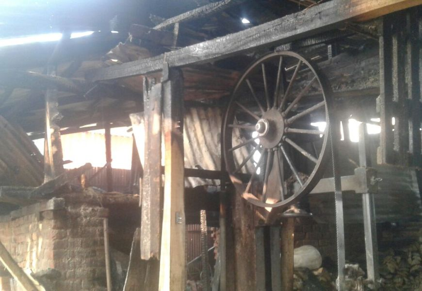 Saw Mill Fire Destroys Livelihood of Baramulla Families