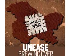 Unease brewing over Article 35A