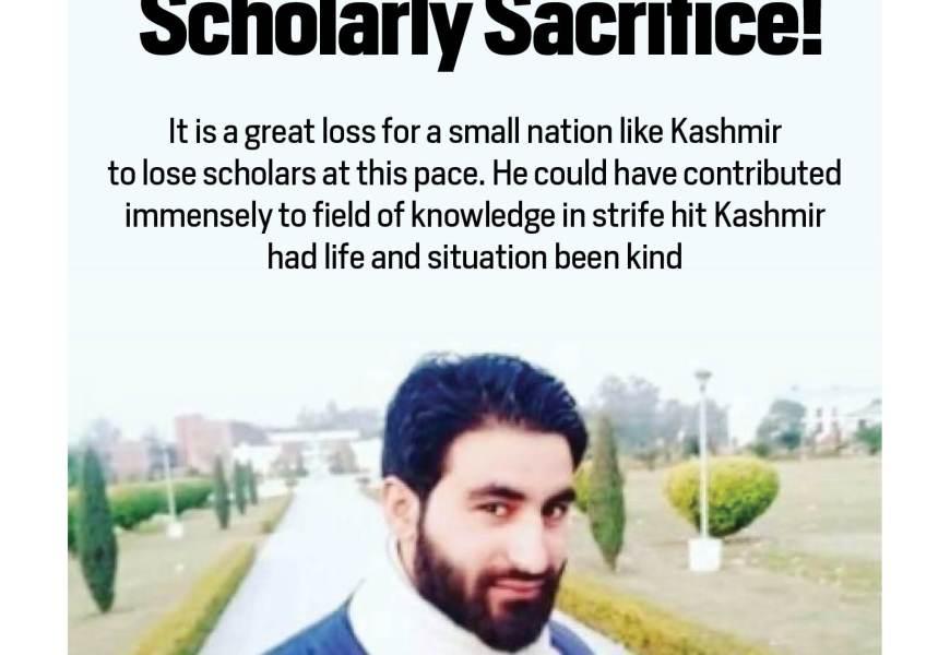 Scholarly Sacrifice!
