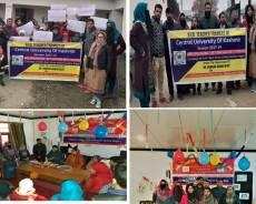 B.Ed Teacher Trainees of Central University of Kashmir organized two different events at Govt. Higher Secondary School Jawahar Nagar Srinagar
