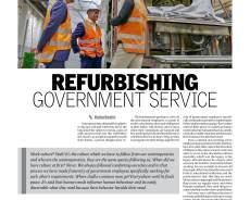 Refurbishing government service