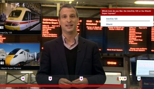 BBC touchcast