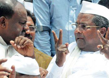 कर्नाटक : कुमारस्वामी सरकार पर संकट, क्षुब्ध कांग्रेस विधायक– सूत्र