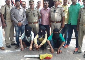 थाना अदलहाट अन्तर्गत नरायनपुर क्षेत्र में हुई सनसनीखेज हत्या का 24 घंटे में खुलासा
