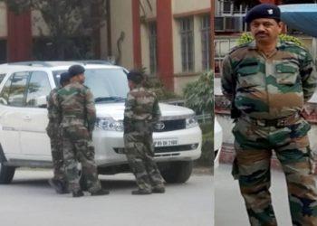 BHU फिर विवादों में : गार्ड पहन रहे सेना की वर्दी, उड़ रही कानून की धज्जियां