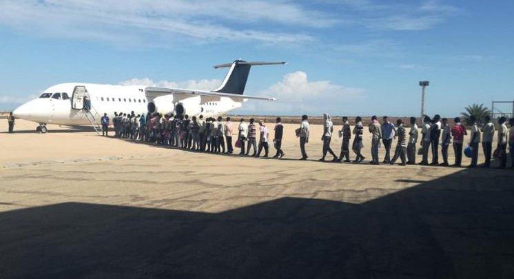 عودة ( 193 ) مهاجرا غير شرعي من ليبيا لنيجيريا طواعية