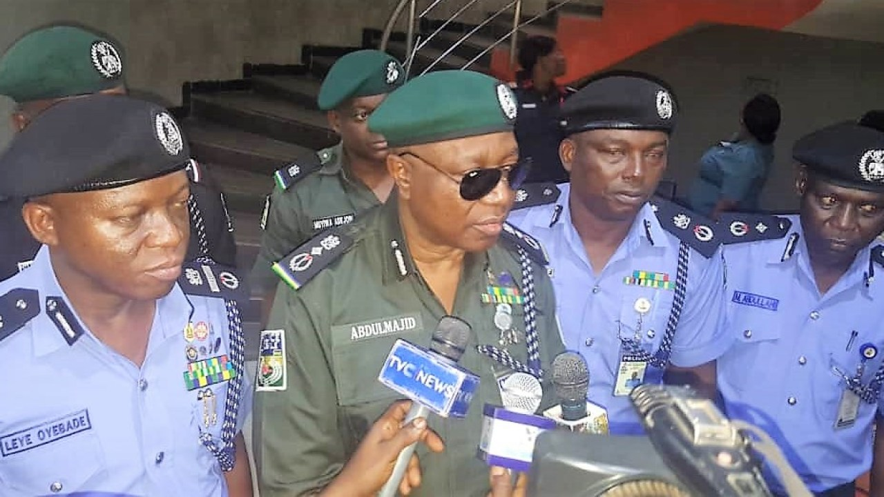 Insecurity: Police Chiefs Tour Southwest States (Photos) | Newsmakers