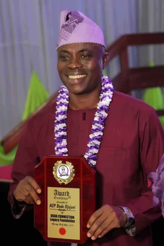 ACP Bode Ojajuni honored by Odua Connection.