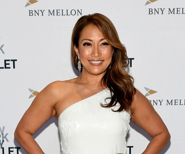 'The Talk' Co-Host Carrie Ann Inaba Takes a Break to Focus ...