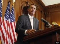 john boehner, barack obama, debt ceiling