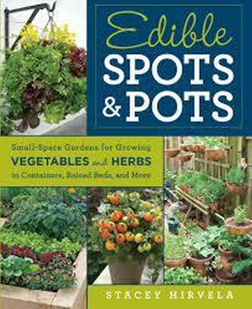 """""""Edible Spots & Pots"""" by Stacey Hirvela."""