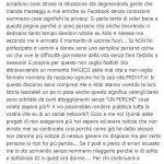 Melania Cammarota scrive su facebok