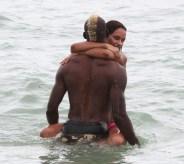 Mario Balotelli in vacanza con Fanny Neguesha a Miami