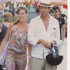 Veronica Maya in vacanza in Tunisia con il marito Marco