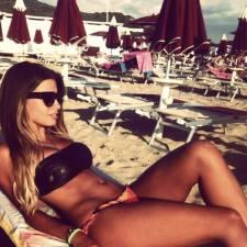 Foto Hot di Germana Meli in Bikini