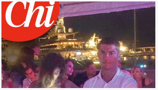 Cristina Buccino insieme a Cristiano Ronaldo