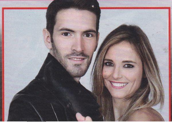 Francesca Fialdini e Giovanni Caccamo