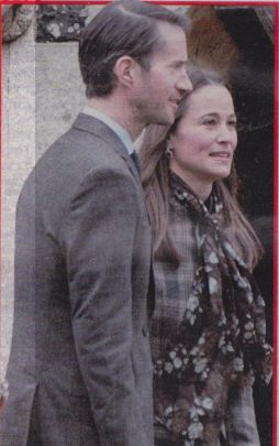 Pippa Middleton James Matthews matrimonio dell'anno