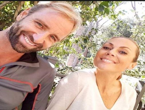 Massimiliano Rosolino e Natalia Titova fra l'amore  di coppia e quello dei figli che crescono
