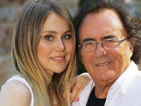 Jasmine figlia di Loredana Lecciso con il padre Albano Carrisi
