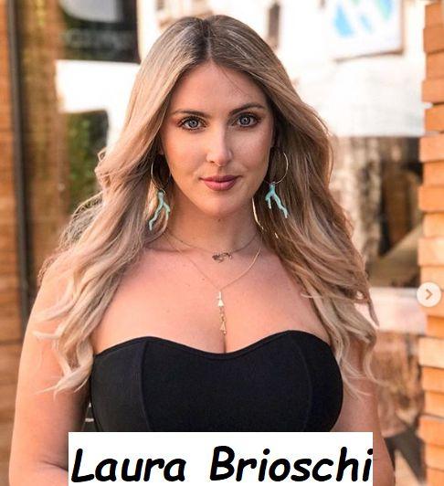 Laura Brioschi bellissima in abito da sera
