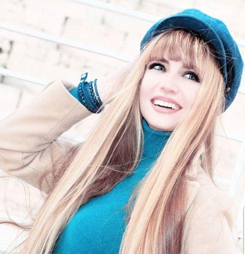 Fotografia dell'attrice argentina Georgia Viero