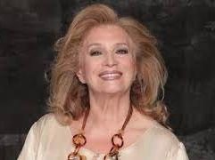 Iva Zanicchi cantante e conduttrice televisiva a CR4 La repubblica delle donne