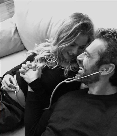 Luca Orgentero e Cristina Marino  aspettano un figlio