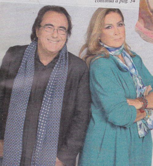 Albano Carrisi e Romina Power in foto da giovani