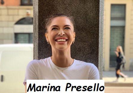Giornalista Sky TG Sport Marina Presello