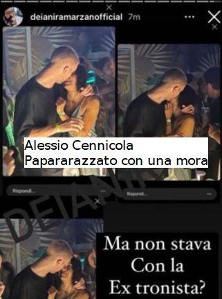 Uominiedonne Samantha Curcio annuncia l'addio a Alessio Cennicola