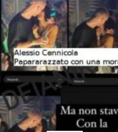 Alessio Cennicola nega il tradimento a Samantha e sulla rottura specifica