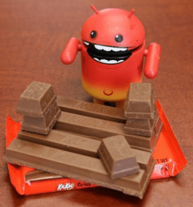 The Latest Version Android is made up of Delicious KITKAT
