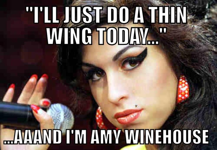 Amy Winehouse Winged Eyeliner