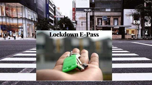 लॉकडाउन में ई पास यहाँ से बनवाएं | Lockdown E pass Kahan Banwayen
