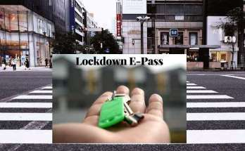 lockdown e pass