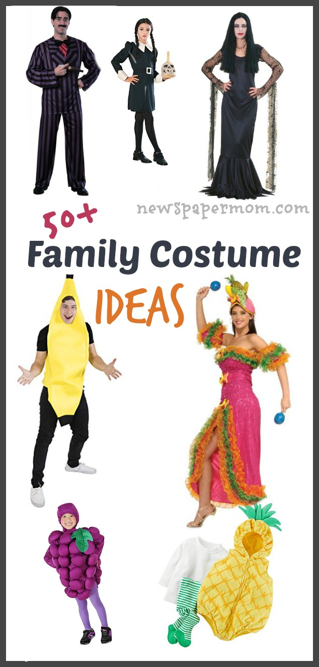 Costume ideas for families