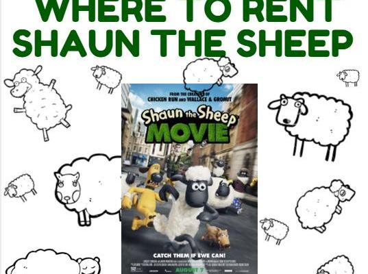 Where to Rent Shaun the Sheep Movie FREE