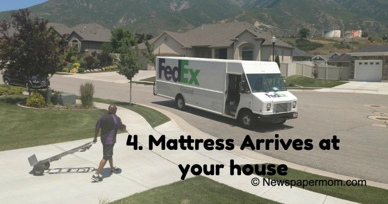 Follow a Voila Mattress In a Box From Order to Delivery