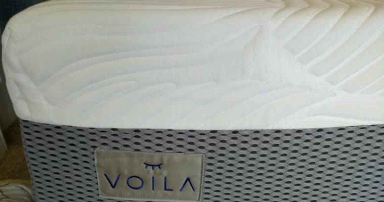 Voila Mattress: A Showroom Quality Innerspring Mattress in a Box + Save 10%