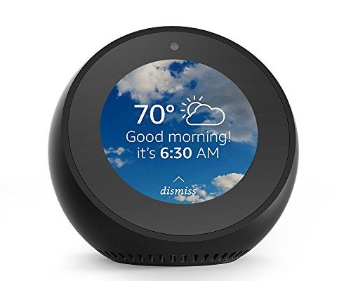 Amazon Alexa Spot Alarm Clock Wakes You Up to Music